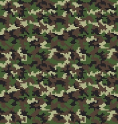 Fashion camouflage pattern vector