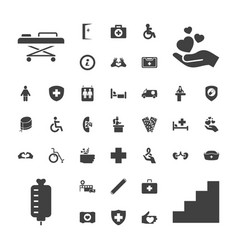 Help icons vector