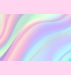 iridescent foil background beautiful holographic vector image