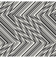 Ornate broken striped textured geometric seamless vector