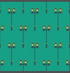 street lighter pattern vector image
