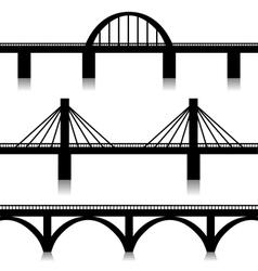 Bridges set vector