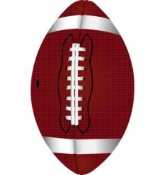 football pigskin vector image vector image