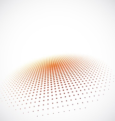 3D Halftone Background vector