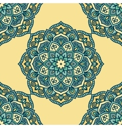 Abstract round pattern vector image