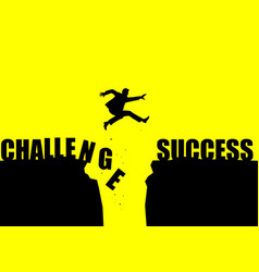 Challenge to success vector