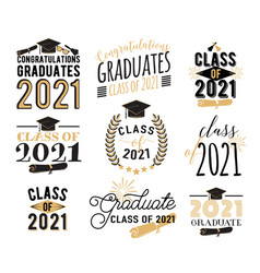congratulation graduation wishes overlays vector image