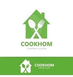 cooking logo design template vector image