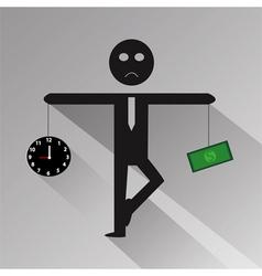 Human Balance vector