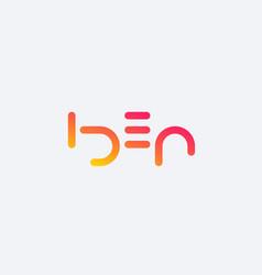 Idea minimal logo design vector