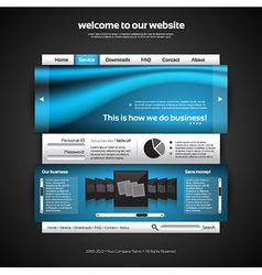 Website Design Template vector