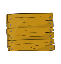 wooden plaque sign symbol icon design beautiful vector image