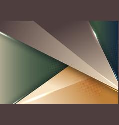 3d modern abstract template geometric vector
