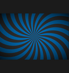 decorative retro blue spiral background swirling vector image