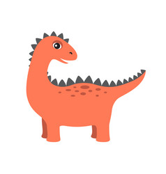 Dinosaur with lots of spikes vector