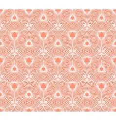 linear geometric pattern 50s wallpaper design vector image