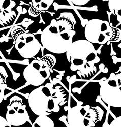 Lots of skulls vector