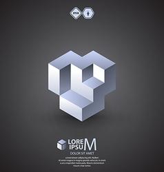 Nuts logo vector image