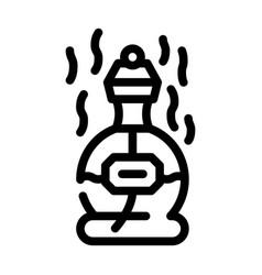 Perfume scent line icon line vector