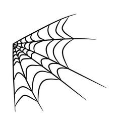 Spider web symbol icon design beautiful isolated vector