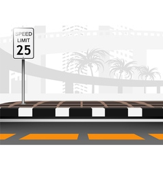 Traffic city vector