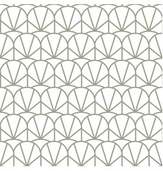 Vintage geometric seamless pattern with vector