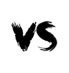 Vs versus logo vector