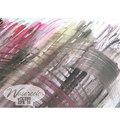 Abstract watercolor painted background vector image