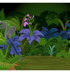 Jungle Landscape vector image