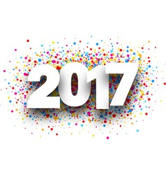 2017 background with drops vector
