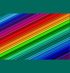 abstract background with rainbow colors oblique vector image