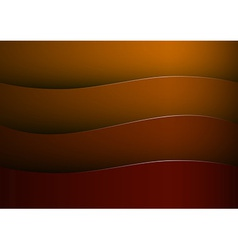 background red stripe wave vector image