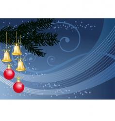 Blue christmas vector
