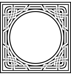 Celtic frame vector