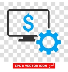 Financial Monitoring Options Eps Icon vector