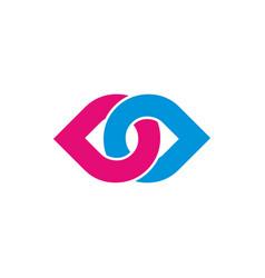 Initial letter brand logo template logotype vector