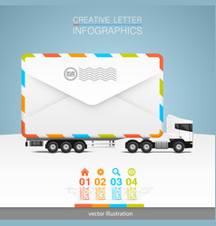 letter on a white background vector image