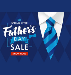 sale fathers day mens suit shop now vector image
