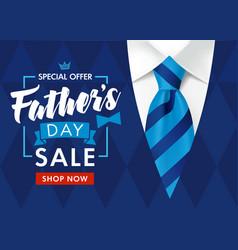 Sale fathers day mens suit shop now vector