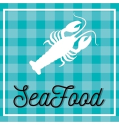 Sea food gastronomy vector