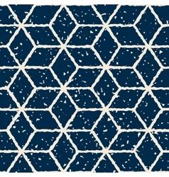 Seamless hand drawn star shape grunge retro vector