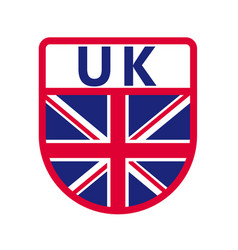 uk badge vector image