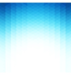 Abstract blue geometric background Template vector