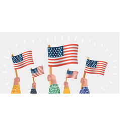 america celebrate 4th of july vector image