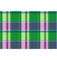 check plaid fabric texture modern seamless pattern vector image