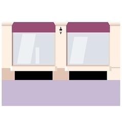 City Shopfront Background vector