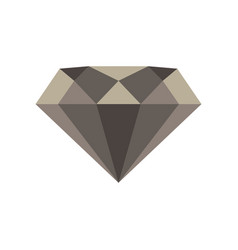 diamond icon design isolated casino gift drawn vector image