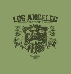 Los angeles eagles vector