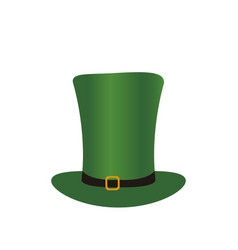 patrick day hat vector image