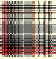 Pixel pattern seamless fabric texture vector